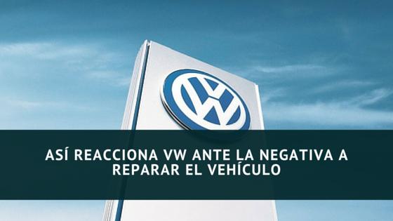 Recalamación Volkswagen